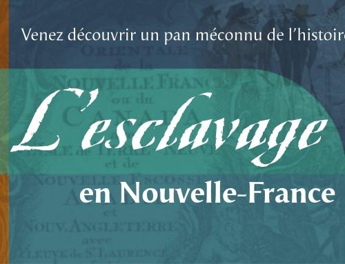 L'esclavage en Nouvelle-France
