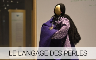 Expositions - exposition Le langage des perles