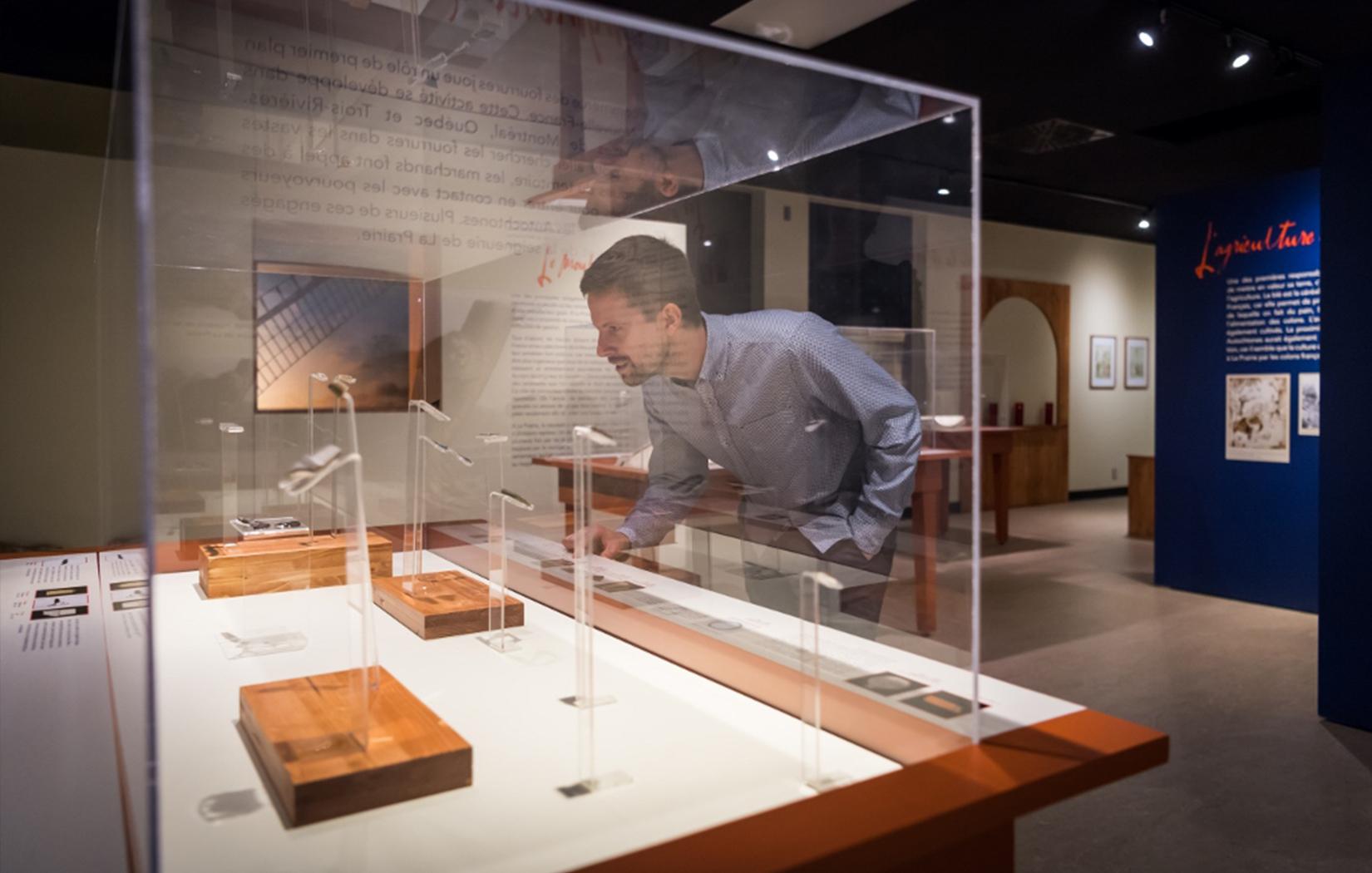 Les expositions au Musée